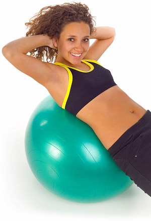 woman-on-fitness-ball